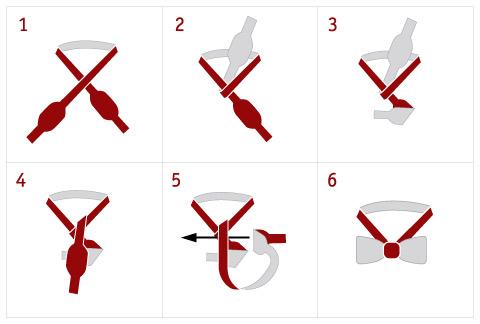 Как сделать галстук бабочку своими руками из бумаги