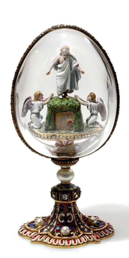 Яйцо Фаберже, Воскресение Христово, 1900